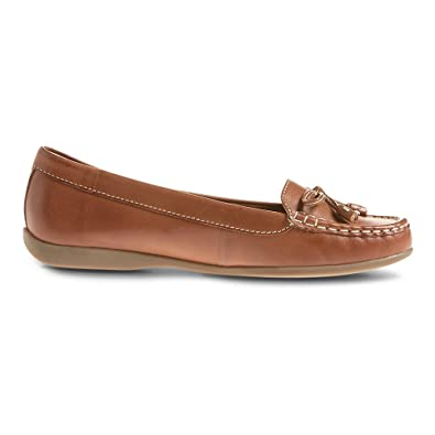 official shop detailed images entire collection Ex Marks & Spencer FootgloveTM T028294 Leather Bow Boat Shoes RRP ...