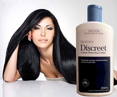 Restoria Discreet Colour Restoring Cream 250mL product of Australia new - Gold Australia And Black