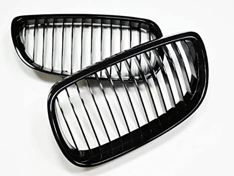 Amazon Com Autotecknic Gloss Black Front Grille