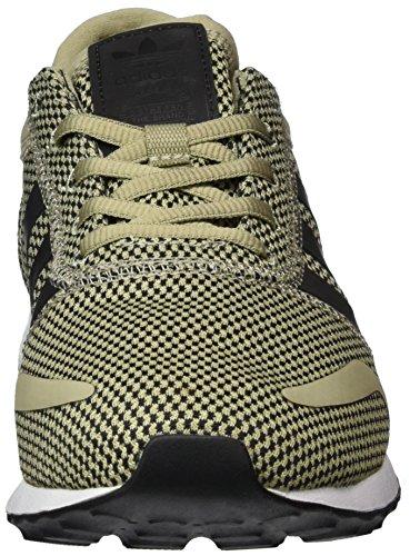 adidas Unisex-Erwachsene Los Angeles Sneaker Beige (Tech Beige/Core Black/Ftwr White)