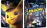 Pokémon Detective Pikachu SteelBook 4K Ultra HD Blu-ray/Blu-ray -  Rated PG, Rob Letterman, Ryan Reynolds