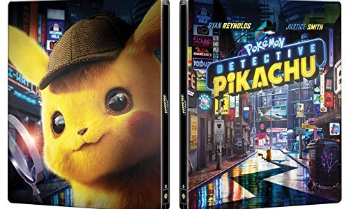Amazon Com Pokemon Detective Pikachu Steelbook 4k Ultra Hd Blu