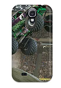 New Premium GdpVVTe2841BxGrz Case Cover For Galaxy S4/ Monster Truck Protective Case Cover