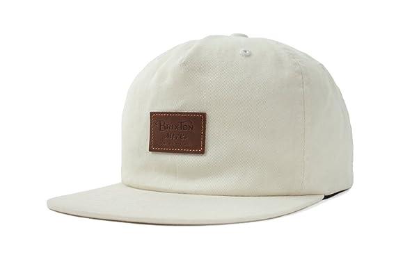 5f54d96969e75 Amazon.com: Brixton Men's Grade Ii Medium Profile Adjustable Unstructured Snapback  Hat, Off Off White, O/S: Clothing