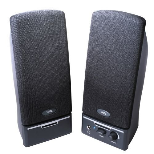 Cyber Acoustics CA2014RB CA-2014rb Amplified Computer Speaker System - 2.0-Channel - Black