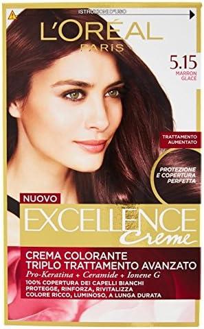 L Oréal Paris Excellence Creme Crema Colorante 5.15 Marron ...