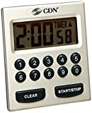 alarm clock direct entry - CDN TM30 Direct Entry 2-Alarm Timer-Alarm Sounds or Vibrates - 1 count