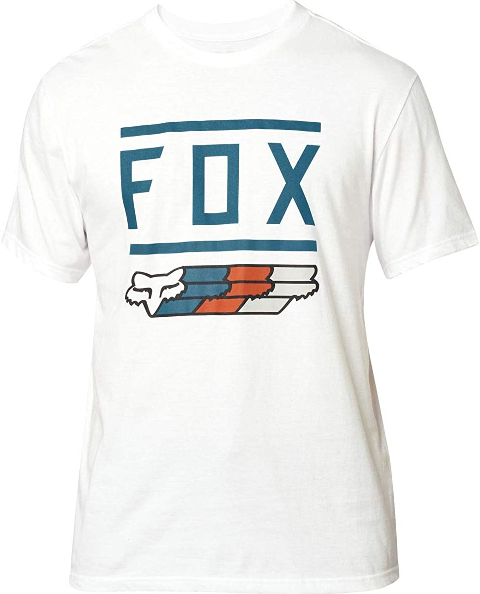 Fox Racing Super Basic Short Sleeve Tee Midweight Cotton Casual Motox T-Shirt