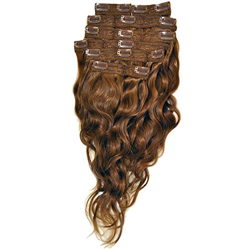 Beverly Johnson Weave (Beverly Johnson Legendary Clip-In Straight Auburn Hair Extension 20 inches)