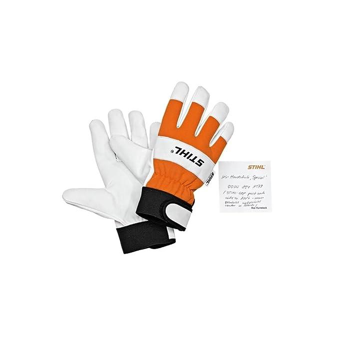 Standard Gants pour tronçonneuse Stihl 0000 883 1508–Marron