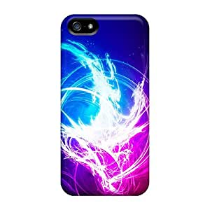 For Iphone 5/5s Tpu Phone Case Cover(abstract)