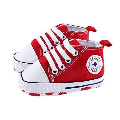 Itaar Prewalker Infant Sweet Canvas Sneaker Anti-skid Soft Shoes Trainer 3-18 Months