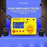 ALLOSUN Audio Impedance Tester Digital LCD Insulation Resistance Megohmmeter Meter Tester with Bag