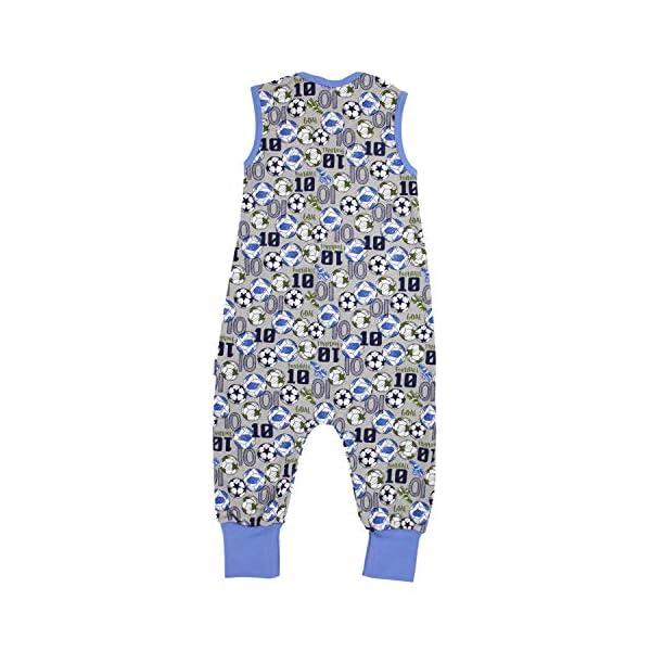 TupTam Baby Summer Sleeping Bag with Legs Unpadded Sleeveles