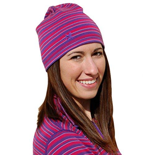 Heavyweight Hat (WoolX X706 Unisex Heavyweight Hat - Orchid Stripe)
