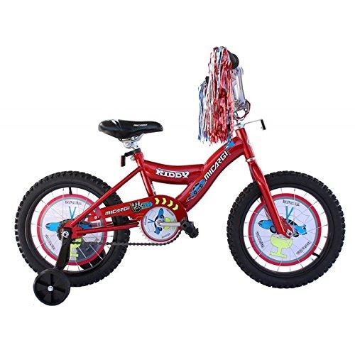 Kiddy 16 in。自転車赤で B01CACDVCE