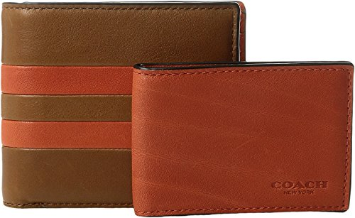 Modern Varsity Stripe Compact Wallet