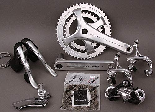 (Campagnolo 2018 Centaur 11 Speed 6 PC Group Groupset 175 36/52 Crankset Silver)
