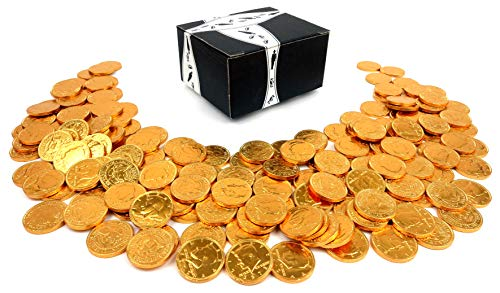 Milk Chocolate Gold Coins by Cuckoo Luckoo Confections,