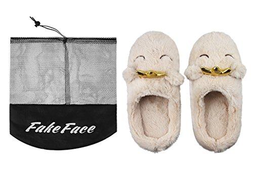 Mujeres De Interior Cálido Vellón Zapatillas, Señoras Chicas Lindas De Dibujos Animados De Invierno Botines Cómodos Antideslizantes Mulas De Felpa Inicio Dormitorio Slip-on Zapatos Botines Linda Corona