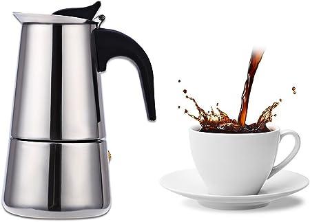 Mini cafetera espresso 4 tazas 200 ml: Amazon.es: Hogar