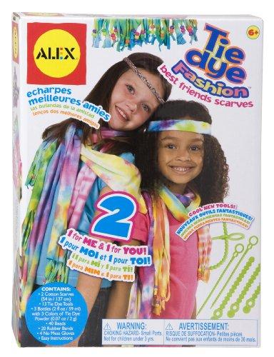 ALEX Toys Do-it-Yourself Wear Tie Dye Fashion Best Friends - 70s Inspiration Fashion