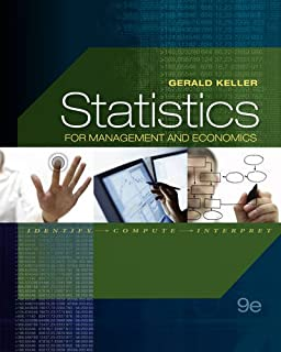 Statistics for management and economics gerald keller statistics for management and economics with online content printed access card fandeluxe Image collections