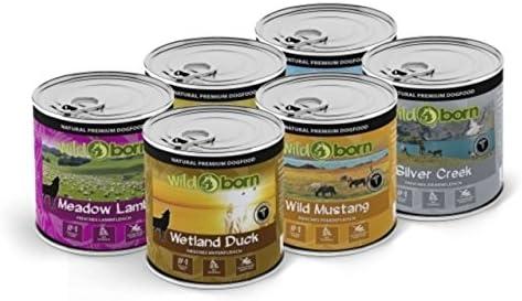 Wildborn-Hundefutter-Nassfutter-Probierpaket