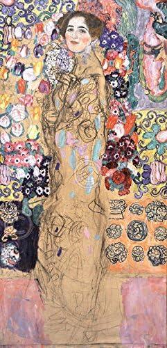 Gustav Klimt Portrait of Ria Munk III Symbolist Woman Print Poster 11x14