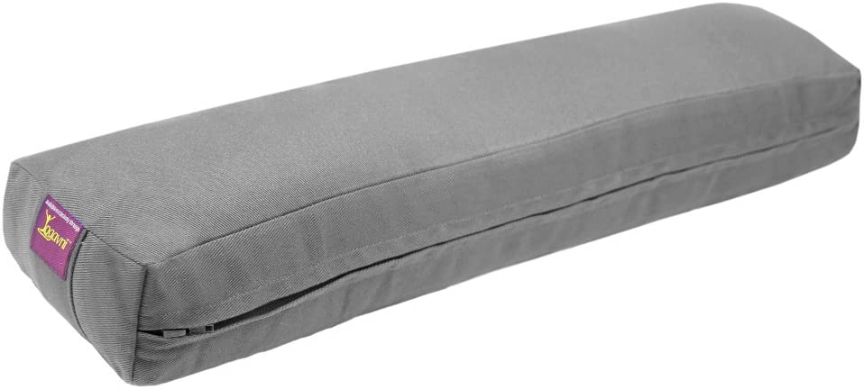 Amazon.com : Pranayama (breathe) Yoga Bolster (Iyengar ...