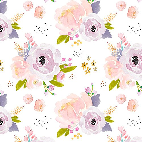 Indy Bloom Design Fabric Indy Bloom Design Peachy Plum B by Indybloomdesign Printed on Minky Fabric by the Yard by Spoonflower Usa Wallpaper Blanket