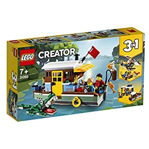 LEGO Creator 3in1 Riverside Houseboat 31093 Creative Building Toy