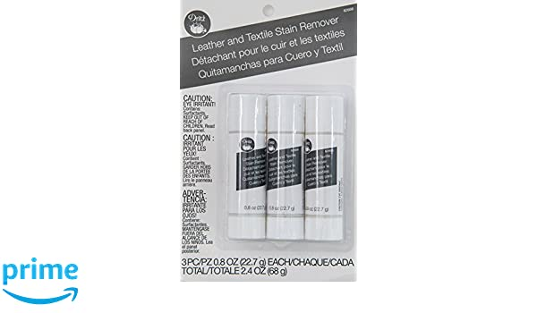 Amazon.com: Dritz Clothing Care Stain Sticks Clothing Care Leather and Textile Remover 3 Ct