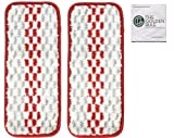 Replacement OCedar Promist Mop Refill for OCedar Pro mist Mop & Golden Rule Screen Clean/Glasses Pad (2, Promist)
