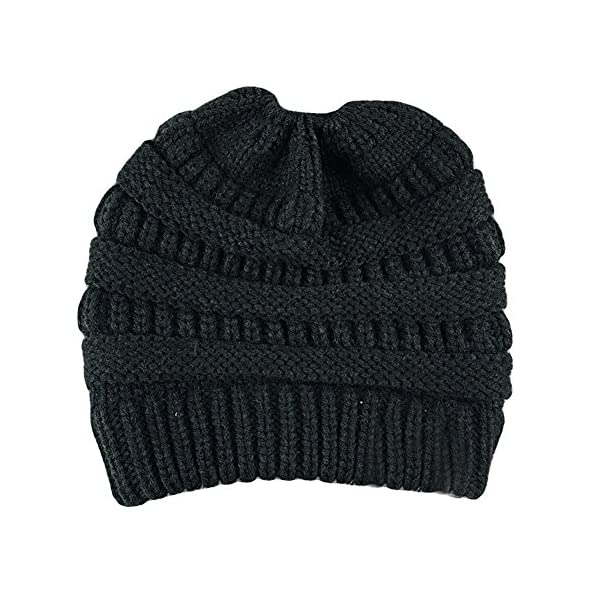 1dd72fbc277e0 ... Messy Bun Beanie Hat Ponytail Hat Crochet Pony Beanie Hat Knit Winter  Hat Women. Sale! Previous. Next