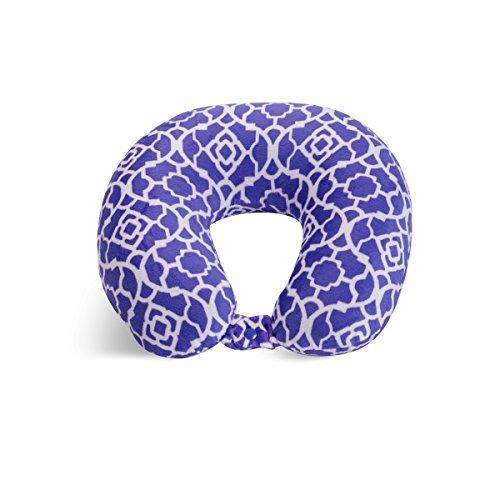 World's Best Cushion Soft Microfiber Neck Pillow, Trellis Pu