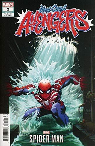 West Coast Avengers (2018) #2 VF/NM-NM Marvel's Spider-Man Video Game Variant