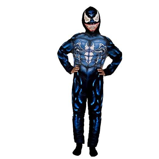 Enjoyfeel Disfras a la moda, Venom Disfraz de Cosplay para niños ...