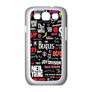 HEHEDE Phone Case Of listening to music Fashion Style Colorful Painted For Samsung Galaxy S3 I9300