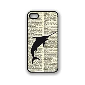 CellPowerCasesTM Nautical Sword Fish Dictionary Page iPhone 5 Case - Fits iPhone 5 & iPhone 5S