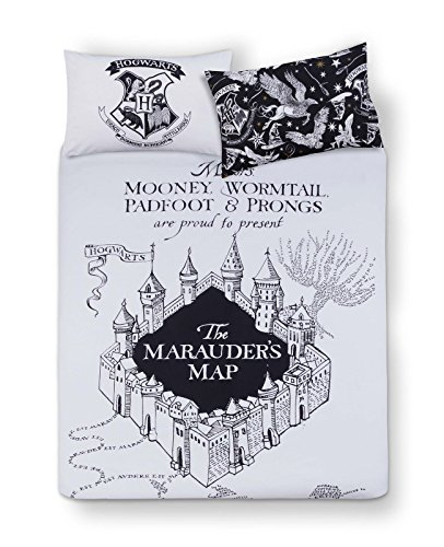[Harry Potter Double or Queen HOGWARTS Duvet Cover and Pillowcases 3 Pc Set] (Ravenclaw Mascot)