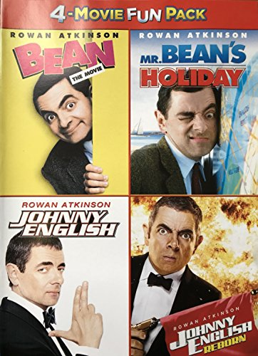 Rowan Atkinson 4-Movie Collection (Bean the Movie / Mr. Bean's Holiday / Johnny English / Johnny English - Collection Bean