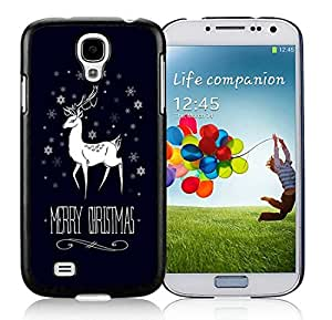 Popular Design Samsung S4 TPU Protective Skin Cover Merry Christmas Black Samsung Galaxy S4 i9500 Case 5