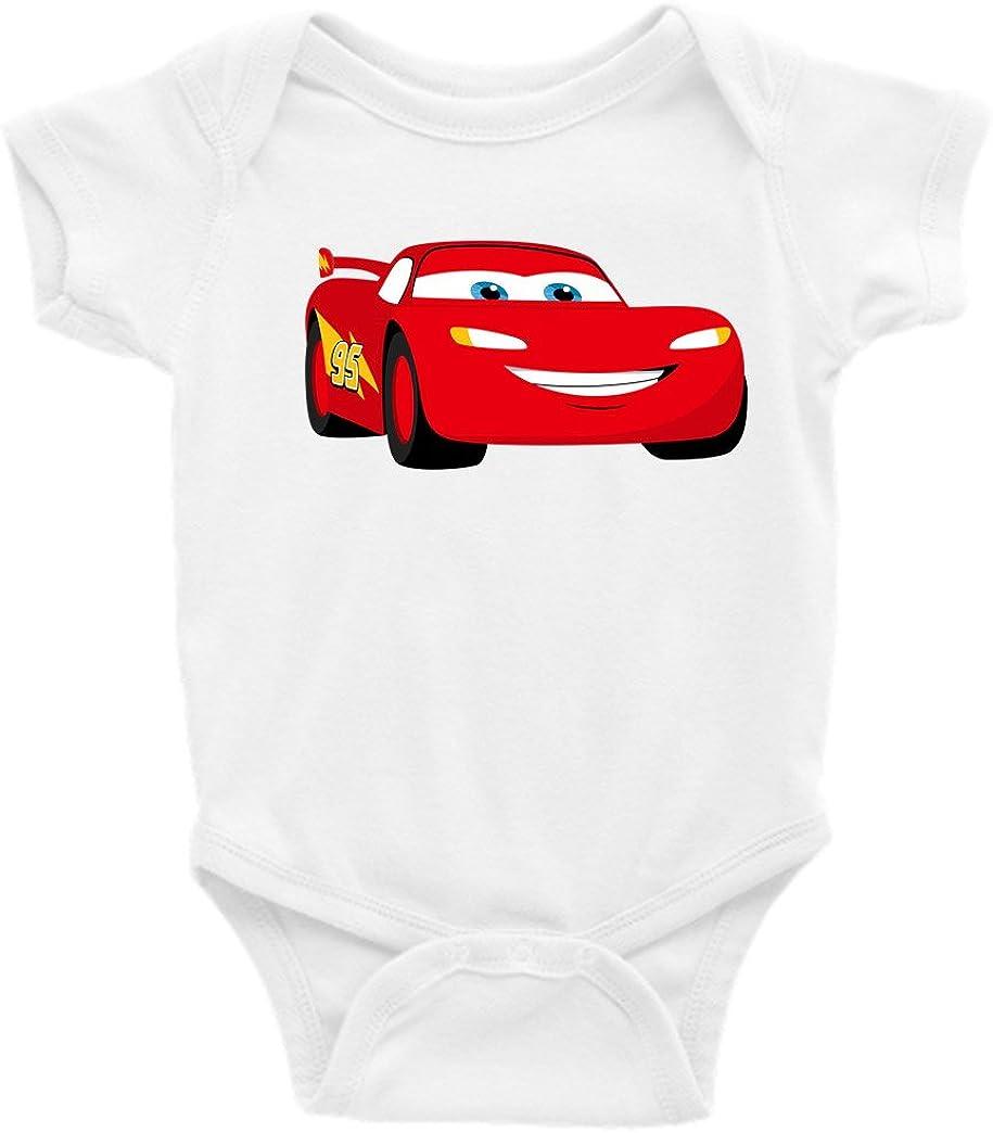 Disney Pixar Cars Lightening McQueen Footed Blanket Sleeper 18 Months