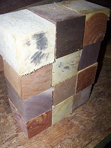 Variety Pack Bottle Stopper Blanks Lathe Wood Blocks