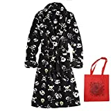 Urban Pipeline Little Boys' Skull Robe & Tote - 2 Piece Gift Set (Small)