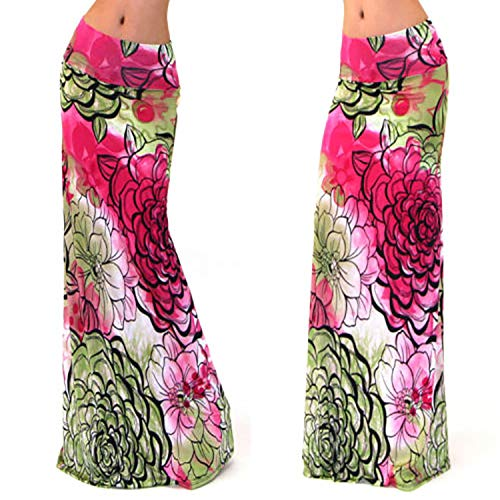 Plage Jupe De Europen Jupes Imprimes Jupe Longue Femmes 18 Style Longues IHwqSAA