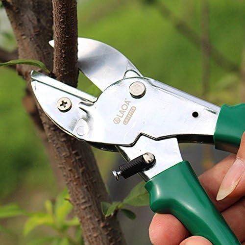 NIUPAN Pruning shears 8 inch garden shears fruit picking scissors household and garden shears pruning tools