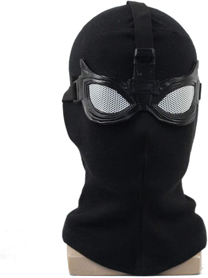 Far from Home Cosplay Spider Mask Hood Accessories (Knitting)