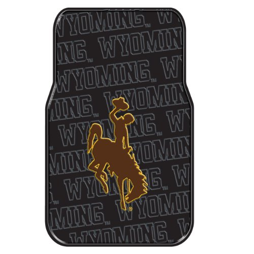 The Northwest Company Officially Licensed NCAA Wyoming Cowboys Auto Front Floor Mat, 2-Pack